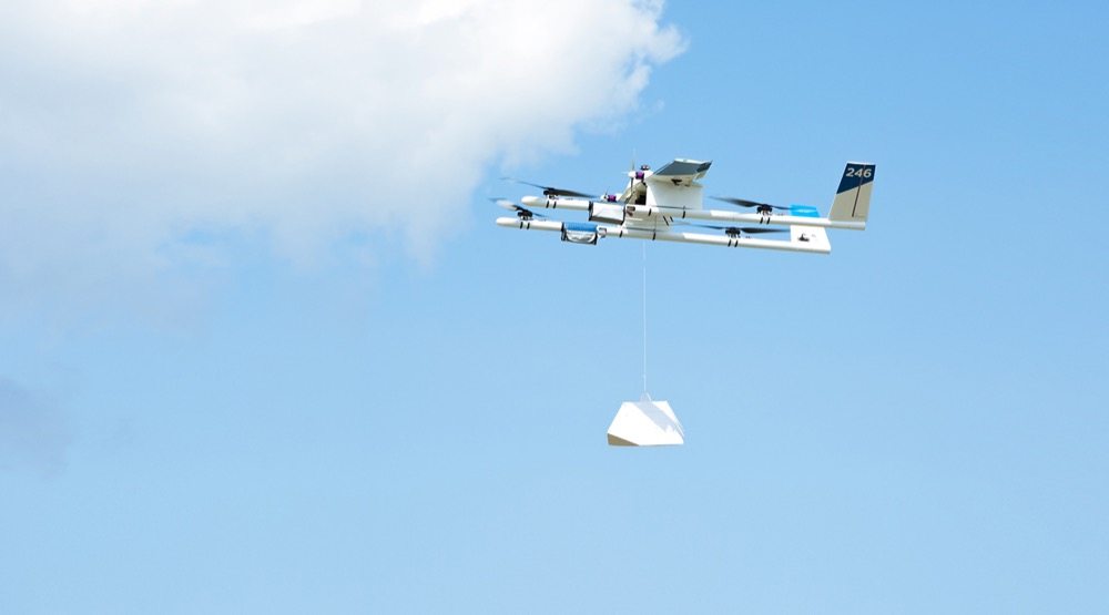 Google X Project Wing delivery drone