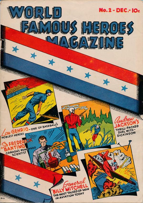 World Famous Heroes Magazine Frederick Banting