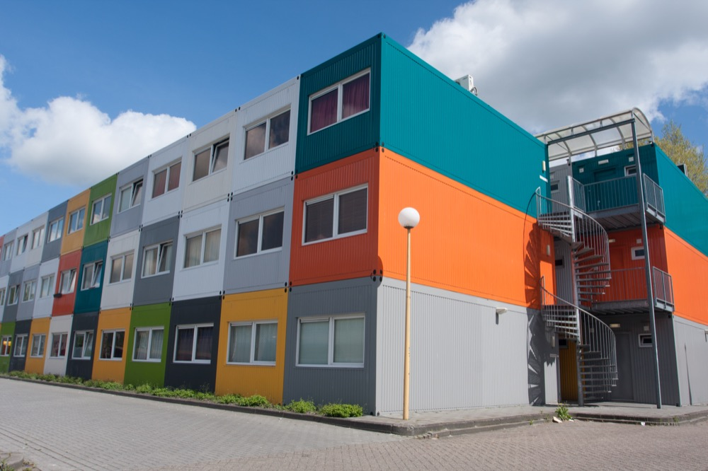 modular home shipping containers