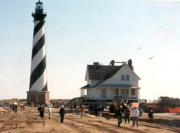 moving the cape hatteras light station