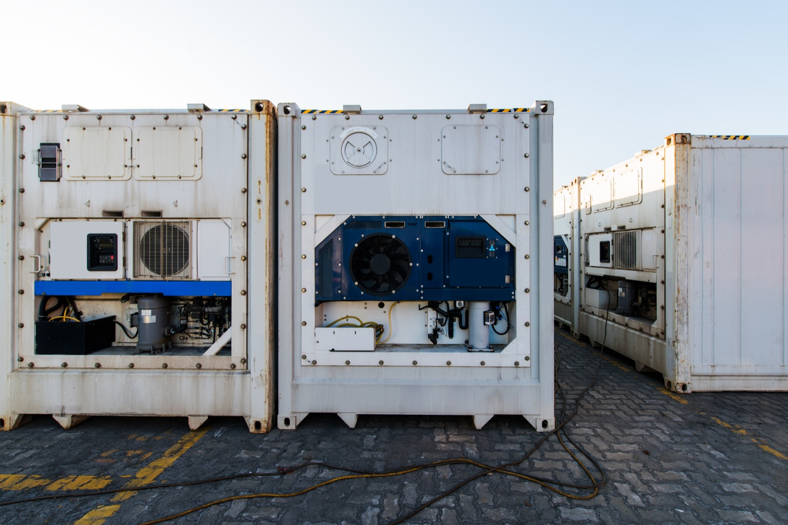 reefer refrigerated container