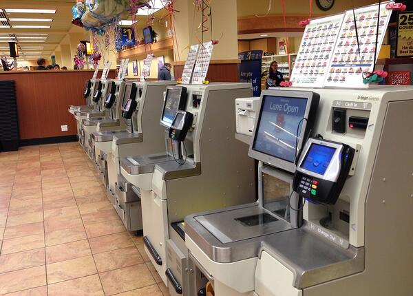 self checkout registers