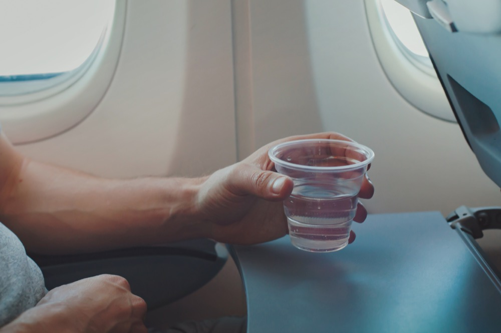 water on the airline