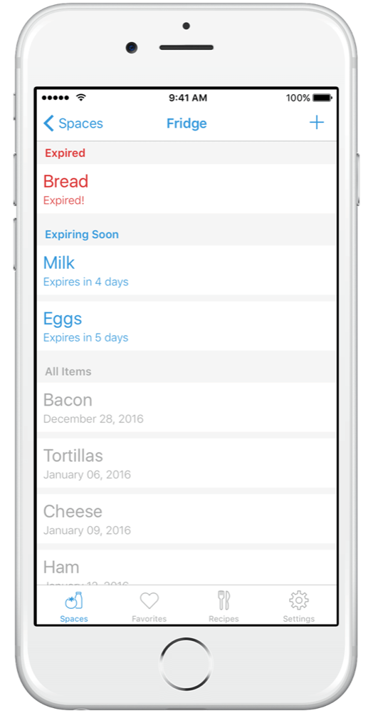 fridgely app