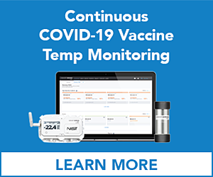 Continuous COVID-19 Vaccine Temperature Monitoring from SmartSense