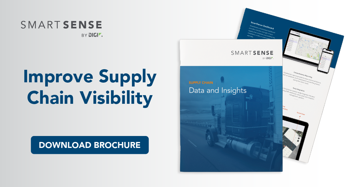 supply chain visibility brochure